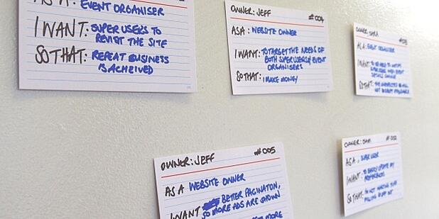 3 key take outs for wrting better user stories