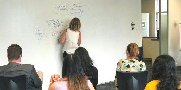 Equinox IT Principal Consultant Kirstin Donaldson covering Scrum in 10 minutes at Certified Scrum Meetup