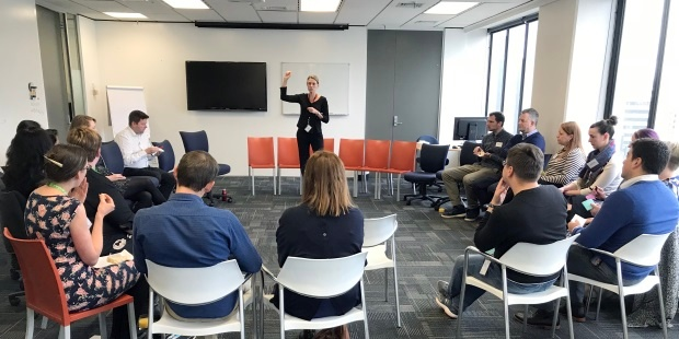 Certified Scrum Meetup Kirstin Donaldson Principal Consultant facilitating