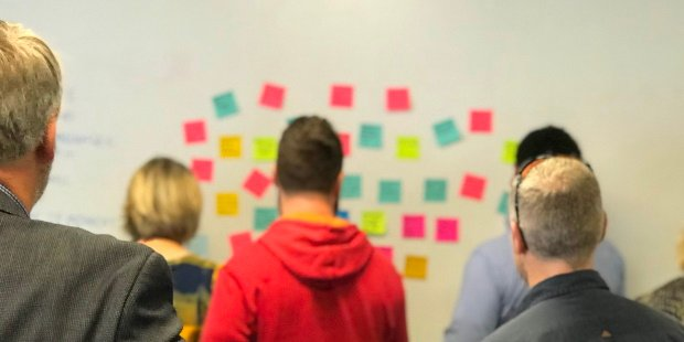 Dot voting at the Certified Scrum Meetup November 2019