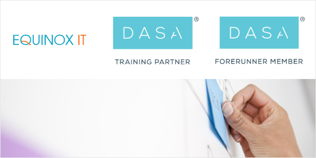 DASA-Training-Partner-620x310-borderingEquinox IT has become a Training Partner and Forerunner Member of the DevOps Agile Skills Association (DASA)
