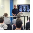 Kevin Thomas presenting on multi-factor authentication at OWASP meetup