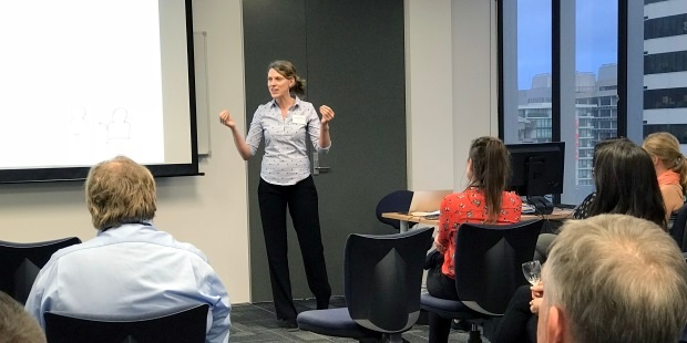 Principal Consultant Kirstin Donaldson presents on the 10 traits of effective IT leaders