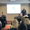 David Reiss, Equinox IT GM Cloud and Auckland, presents at Azure DevOps event in Wellington