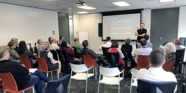 Equinox IT Principal Consultant Carl Weller presents on Portfolio Kanban