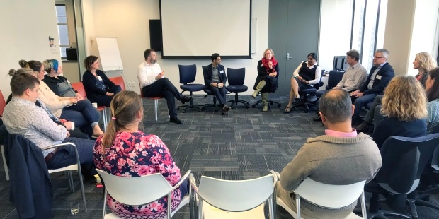 Introductions at the Projects and Agile Community of Practice event