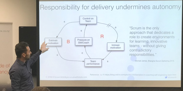 Responsibility for delivery undermines autonomy