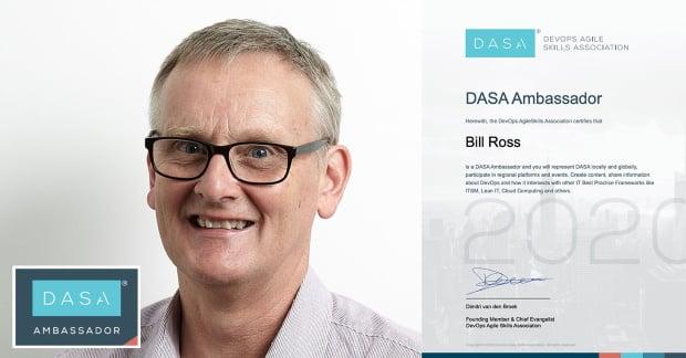 Equinox IT's Bill Ross appointed as NZ DASA DevOps ambassador