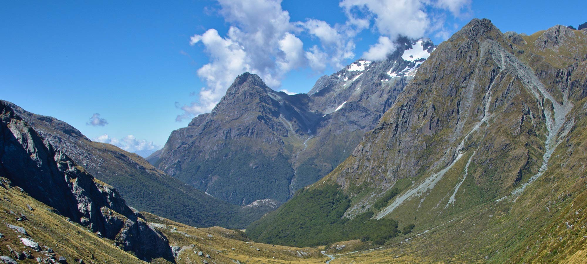 Mount Aspiring National Park, by Tomas Sobek, used under Creative Commons CC BY 2.0