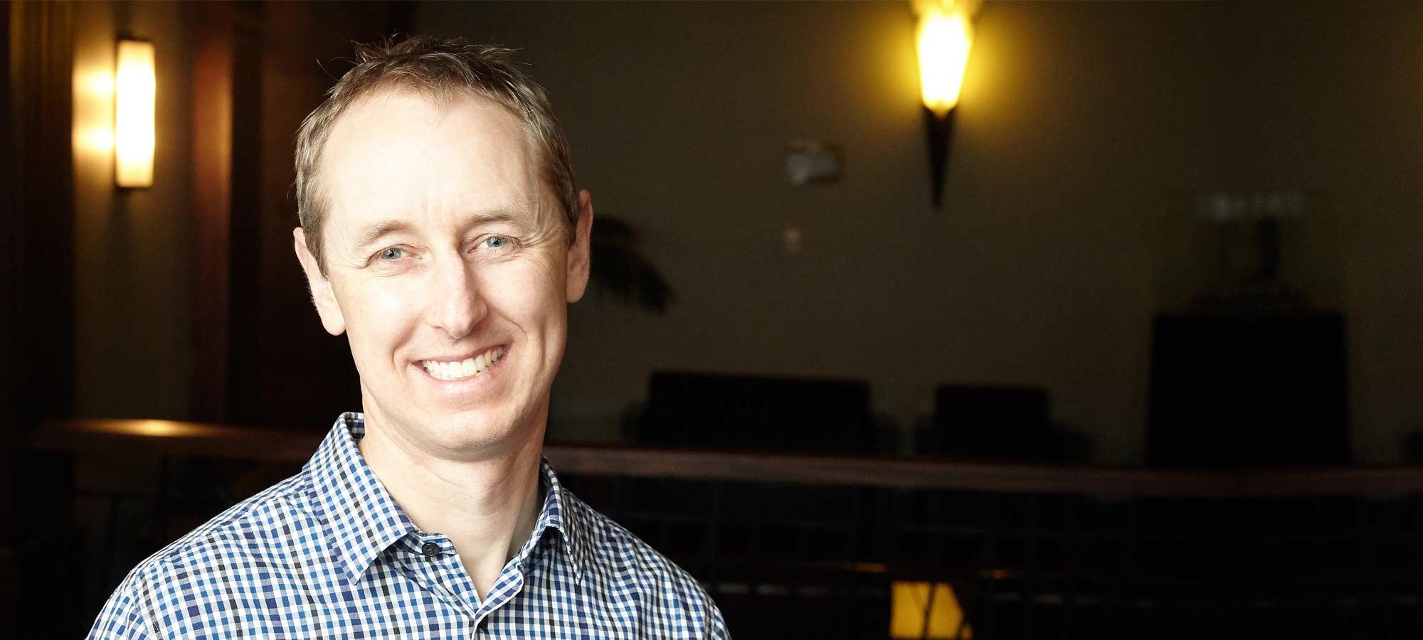 Brendon Livingstone, Marketing Manager, Equinox IT Wellington
