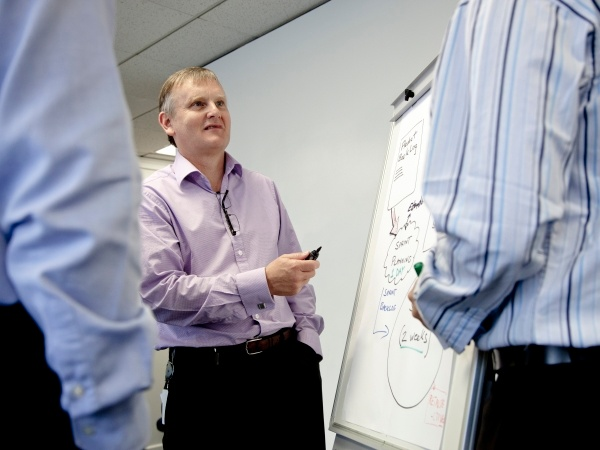 Bill Ross performing Lean architecture in practice