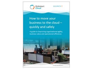 ebook: How to move your business to the cloud - quickly and safely