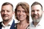 Julien Thomas, Kirstin Donaldson, Carl Weller, Principal Agile Consultants, Equinox IT