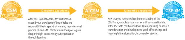 Your new ScrumMaster development path to Certified Scrum Professional