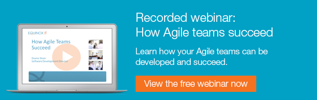 recorded webinar: how agile development teams succeed