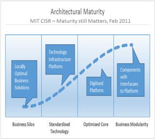 Architectural matuerity diagram in 5 models to help your new zealand organisation become a digital superstar