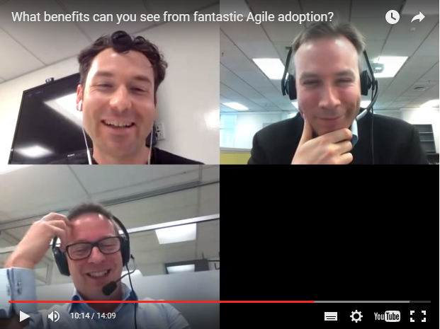 Blab: What benefits can you see from fantastic Agile adoption?