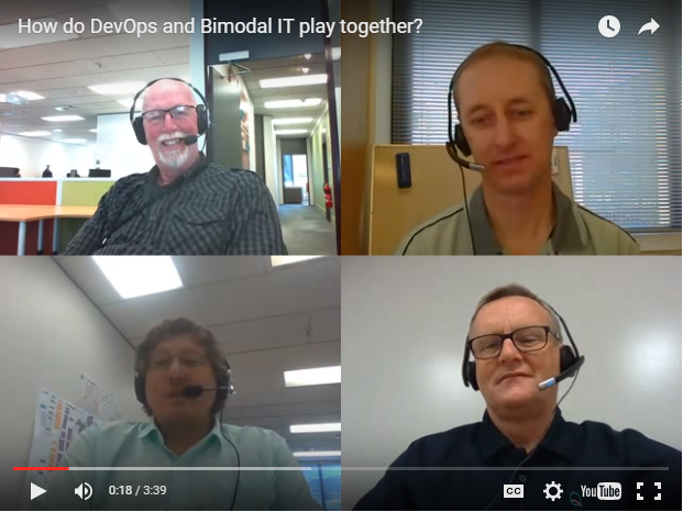 Blab: How do DevOps and Bimodal IT play together?