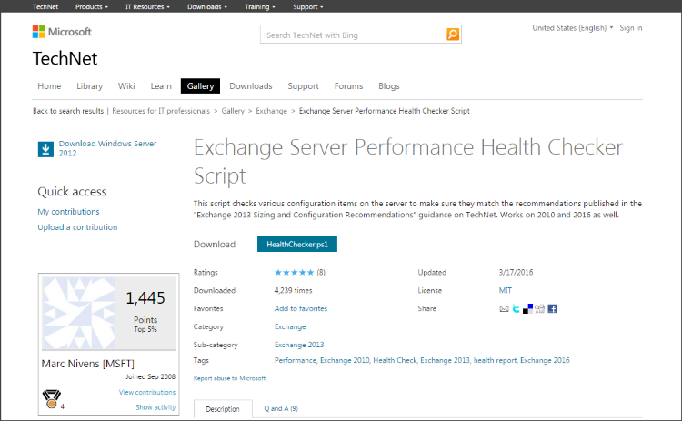 Part 3 – Performance monitoring Microsoft Exchange in production
