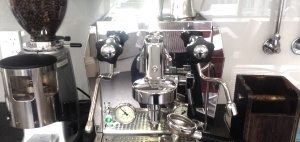 Equinox IT and one of our 5 coffee machines